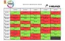 Planning des rencontres de la phase retour Homme du championnat par équipe 2017/2018