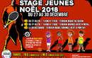 Stages Jeunes | 27 au 30 décembre